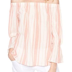 NWT Sanctuary | Off the Shoulder Stripe Top MEDIUM